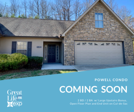 Coming Soon - Powell Condo For Sale