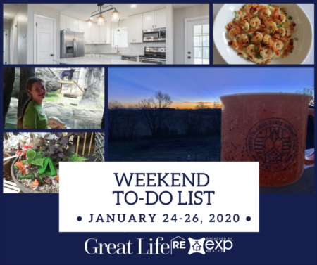 Weekend To Do List, January 24-26, 2020