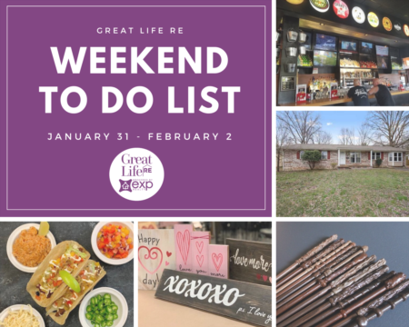 Weekend To Do List, January 31- February 2, 2020