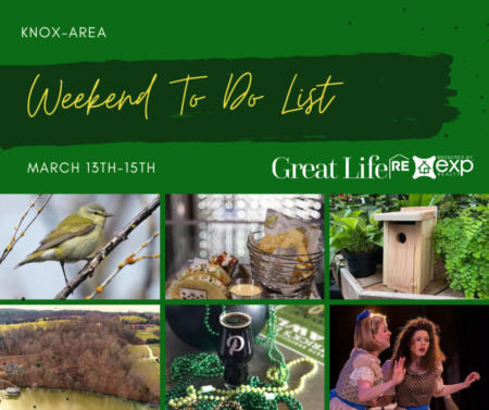 Weekend To Do List, March 13-15, 2020