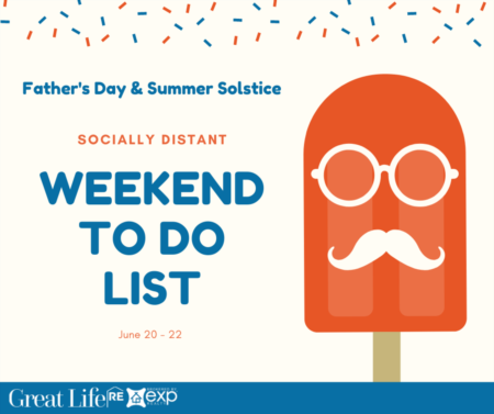 Father's Day & Summer Solstice Weekend To Do List