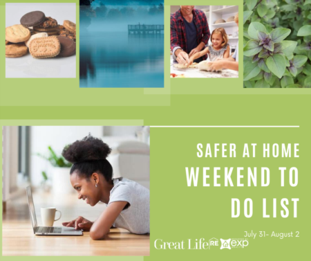 Weekend To Do List - Socially Distant Edition