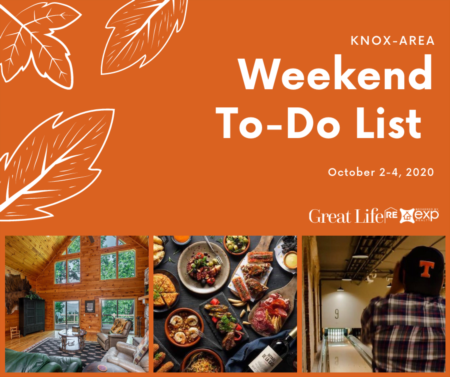 Weekend To Do List - October 2-4, 2020