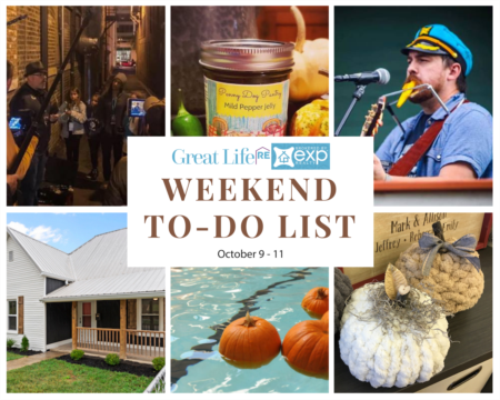 Weekend To Do List - October 9-11, 2020