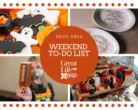 Weekend To Do List - October 23-25, 2020