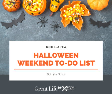 Weekend To Do List - October 30 - November 1, 2020