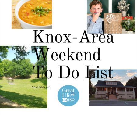 Weekend To Do List - November 6-8, 2020