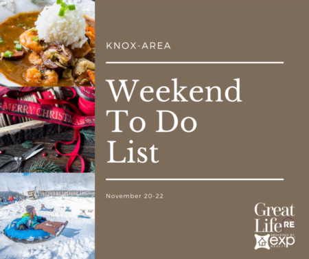 Weekend To Do List - November 20-22, 2020