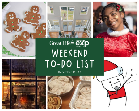 Weekend To Do List - December 11-13, 2020