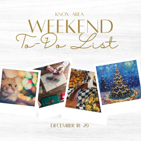 Weekend To Do List - December 18-20, 2020