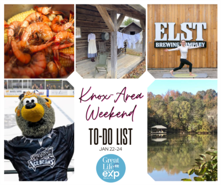 Knox Area Weekend To Do List - January 22-24, 2021