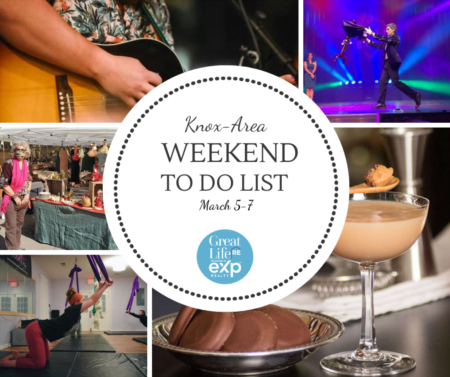 Knox Area Weekend To Do List - March 5-7, 2021