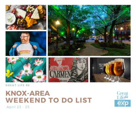 Knox Area Weekend To Do List - April 23-25, 2021