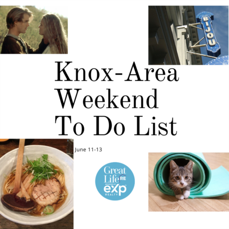 Knox Area Weekend To Do List, June 11-13, 2021