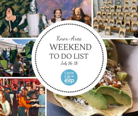 Knox Area Weekend To Do List, July 16-18, 2021