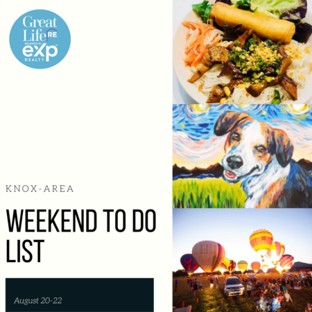 Knox Area Weekend To Do List, August 20-22, 2021