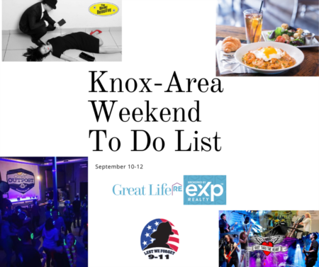Knox Area Weekend To Do List, September 10-12, 2021