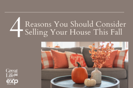 4 Reasons You Should Consider Selling Your House This Fall