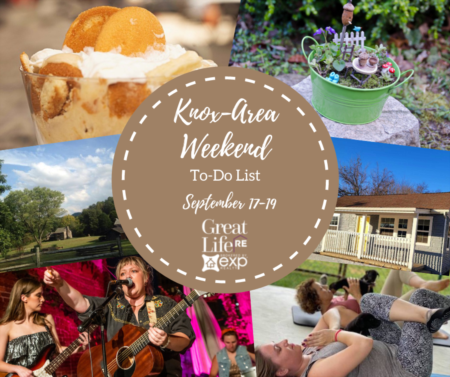 Knox Area Weekend To Do List, September 17-19, 2021