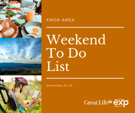 Knox Area Weekend To Do List, September 24-26, 2021