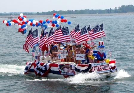 Watts Bar 4th of July Boat Parade