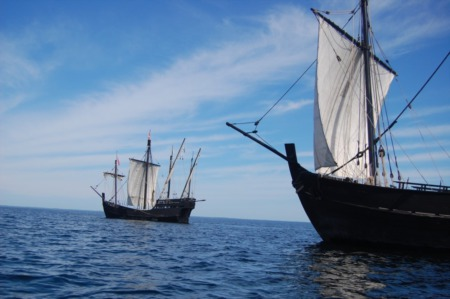 See The Columbus Replica Ships - Now At A Waterfront Near You!