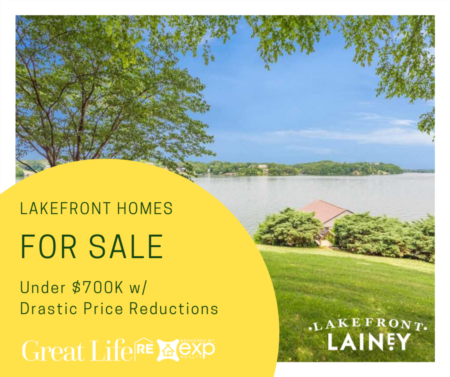Lakefront Homes under $700k with Drastic Price Reductions