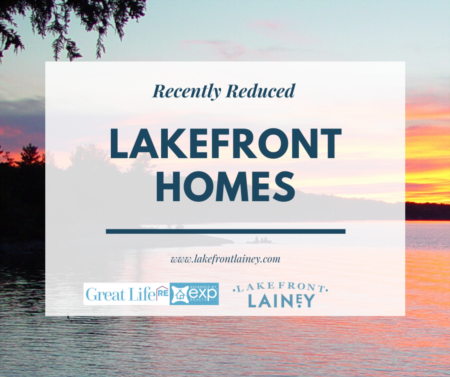 Lakefront Homes with Recent Price Reductions