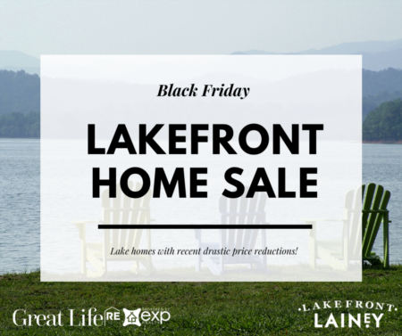 Black Friday Lake Home Search