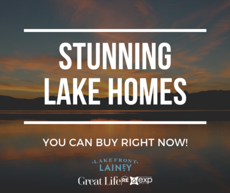 Stunning Lake Homes You Can Buy Right Now!