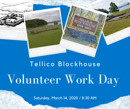 Volunteer Work Day at Tellico Blockhouse