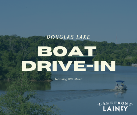Movies on Douglas Lake - Boat Drive In