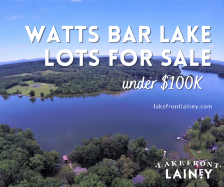 Watts Bar Lake Lots under $100k