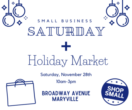 Small Business Saturday + Holiday Market