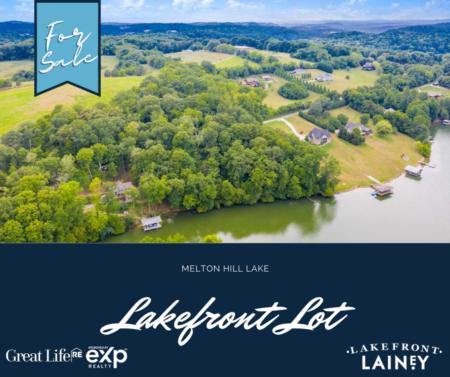 Melton Hill Lakefront Lot For Sale