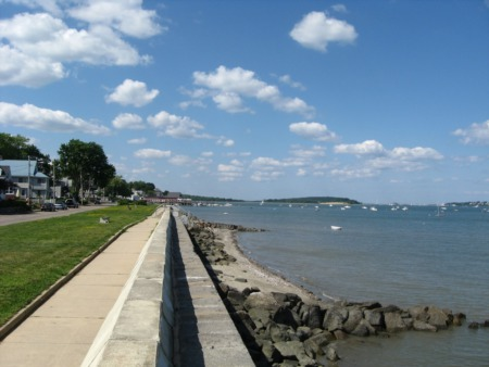 Quincy MA seawall reconstruction project funding approved
