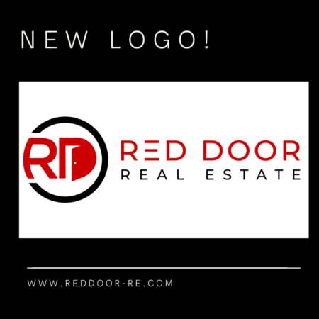 Big News! Red Door Real Estate unveils new logo as part of new branding campaign.