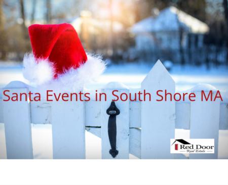 Santa events in the South Shore MA and South Shore MA Santa sightings