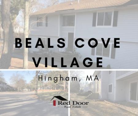 Hingham MA Condo complex Beals Cove Village