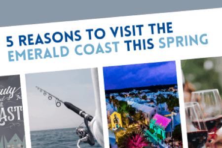 5 Reasons to Visit the Emerald Coast This Spring