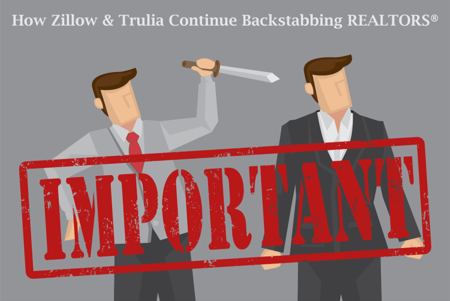 Zillow Trulia and Realtors (How Zillow Group backstabs Agents)