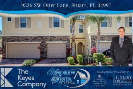 Stuart Florida Townhouse Under Contract