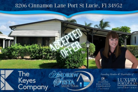Another Savanna Club Home Under Contract in Port St Lucie