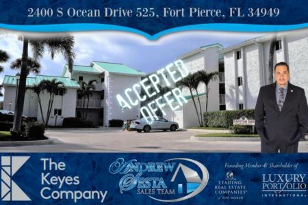 Another Ocean Village Condo Under Contract