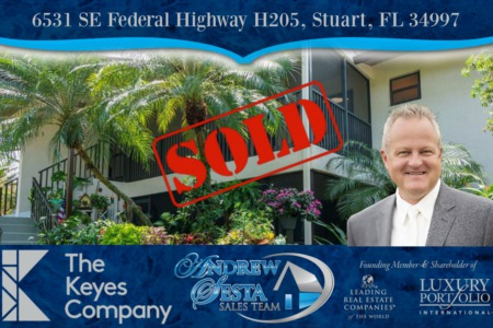 Sold Another Stuart Florida Condo