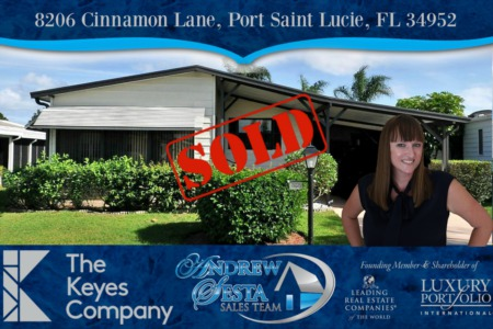 Savanna Club Home Sold and Closed