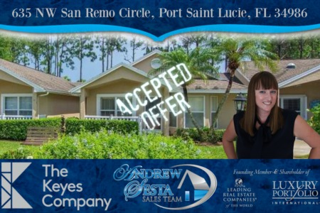 Another Kings Isle Port St Lucie Home Under Contract