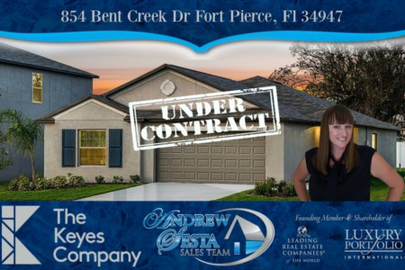 New Construction Home in Fort Pierce Florida
