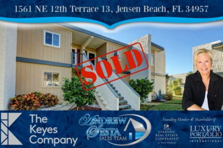 Another Beacon 21 Condo Sold Jensen Beach Florida