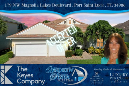 Saint Lucie West Home Under Contract